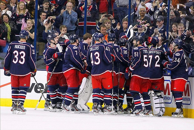 Columbus Blue Jackets Steal Win Away From Anaheim Ducks In Overtime
