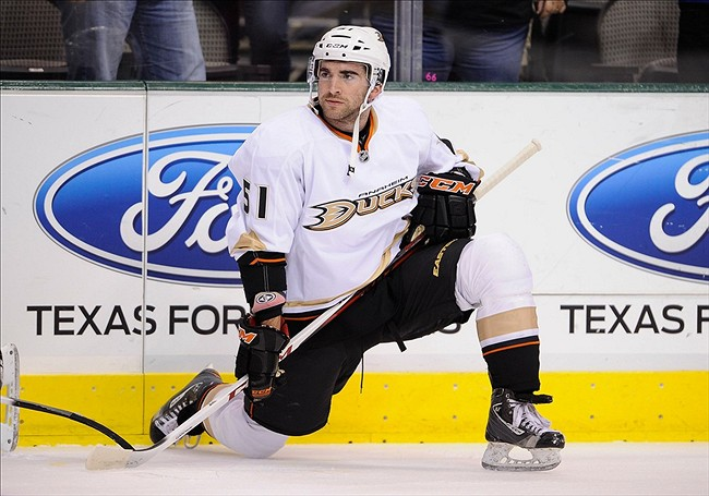 Kyle Palmieri Resigns With Anaheim Ducks for Three Years