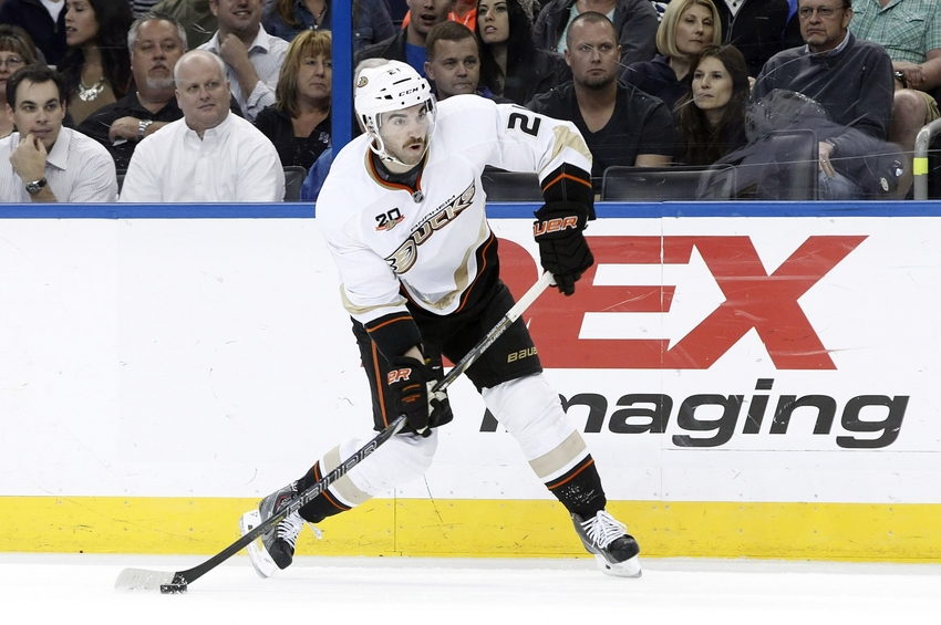 Anaheim Ducks Player Grades Kyle Palmieri